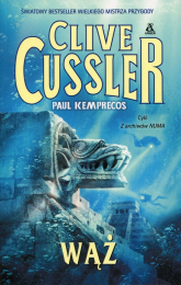 Wąż - Clive Cussler | mała okładka