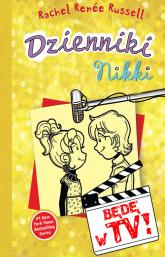 Dzienniki Nikki Będę w TV - Russel Rachel Renee | mała okładka