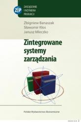 Zintegrowane systemy zarządzania + CD - Banaszak Zbigniew, Kłos Sławomir, Mleczko Janusz | mała okładka