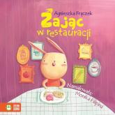 Zając w restauracji Wierszowane historyjki - Agnieszka Frączek | mała okładka