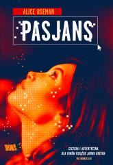 Pasjans - Alice Oseman | mała okładka
