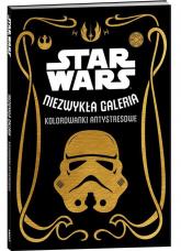 Star Wars Niezwykła galeria Kolorowanki antystresowe -    mała okładka