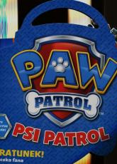 Psi patrol Na ratunek teczka z naklejkami -    mała okładka