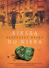 Rikszą do nieba - Krzysztof Beśka | mała okładka