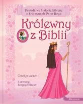 Królewny z Biblii - Carolyn Larson | mała okładka