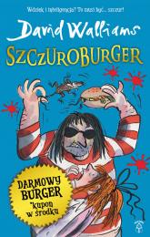 Szczuroburger - David Walliams   mała okładka