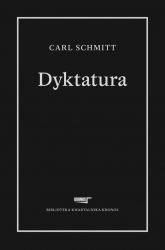 Dyktatura - Carl Schmitt | mała okładka