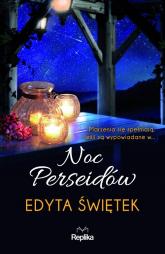 Noc Perseidów - Edyta Świętek | mała okładka