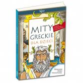 Mity greckie dla dzieci - Lucyna Szary | mała okładka