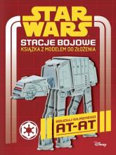 Star Wars Stacje bojowe Książka z modelem do złożenia - Craig Jelley | mała okładka
