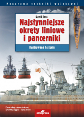 Najsłynniejsze okręty liniowe i pancerniki Ilustrowana historia - David Ross   mała okładka