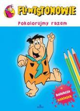 Flintstonowie Pokolorujmy razem -  | mała okładka