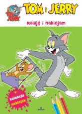 Tom i Jerry Maluję i naklejam -  | mała okładka