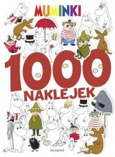 Muminki 1000 naklejek - Anna Porowska   mała okładka