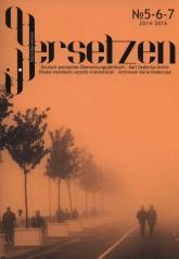 OderÜbersetzen nr 5-6-7 Polsko-niemiecki rocznik translatorski – Archiwum Karla Dedeciusa -  | mała okładka