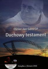 Duchowy testament + DVD - Jan Góra | mała okładka