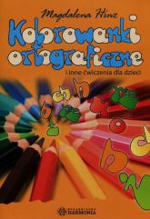 Kolorowanki ortograficzne i inne ćwiczenia dla dzieci - Magdalena Hinz | mała okładka