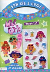 Baw się z nami Mini Girls Wakacje Naklejki -  | mała okładka