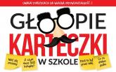 Głoopie karteczki w szkole - Krzysztof Żywczak | mała okładka