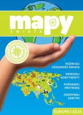 Mapy świata Europa i Azja -  | mała okładka