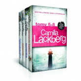 Niemiecki bękart / Syrenka /Latarnik /Fabrykantka aniołków Pakiet Camilla Lackberg Tom 5-8 - Camilla Lackberg | mała okładka