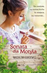Sonata dla Motyla - Magdalena Kubasiewicz | mała okładka