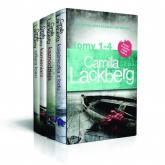 Księżniczka z lodu / Kaznodzieja / Kamieniarz / Ofiara losu Pakiet Camilla Lackberg Tom 1-4 - Camilla Lackberg | mała okładka