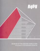 Muzeum II Wojny Światowej katalog wystawy głównej wersja angielska - zbiorowa Praca | mała okładka