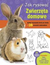 Jak rysować Zwierzęta domowe - Robbin Cuddy | mała okładka