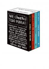Nie otwieraj tego pudła 4 Bestsellery Keri Smith: Zniszcz ten dziennik, To Nie Książka, Bałagan, Łowca Skarbów - Keri Smith | mała okładka