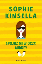 Spójrz mi w oczy Audrey - Sophie Kinsella | mała okładka