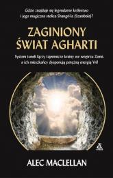 Zaginiony świat Agharti - Alec Maclellan | mała okładka