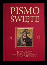 Pismo Święte Nowego Testamentu bordo - Kazimierz Romaniuk   mała okładka