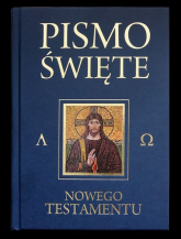 Pismo Święte Nowego Testamentu granat - Kazimierz Romaniuk   mała okładka