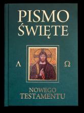Pismo Święte Nowego Testamentu zielone - Kazimierz Romaniuk   mała okładka