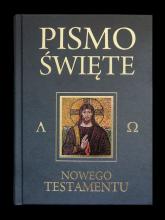 Pismo Święte Nowego Testamentu popielaty - Kazimierz Romaniuk   mała okładka