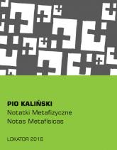 Notatki metafizyczne - Pio Kaliński | mała okładka