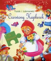 Czerwony Kapturek Puzzle i kolorowanki -  | mała okładka