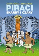 Złota księga łamigłówek Piraci skarby i czary - Guzowska Beata, Jagielski Mateusz | mała okładka