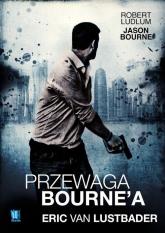 Przewaga Bourne'a - Eric Lustbader | mała okładka