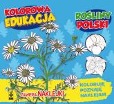 Kolorowa edukacja Rośliny Polski naklejka -  | mała okładka