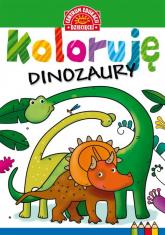 Koloruję Dinozaury -  | mała okładka