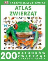 Fascynujący Świat Atlas zwierząt -  | mała okładka