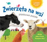Zwierzęta na wsi Piankowe puzzle -  | mała okładka