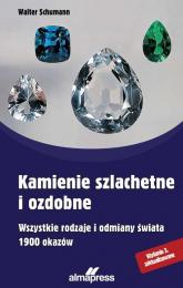 Kamienie szlachetne i ozdobne - Walter Schumann | mała okładka