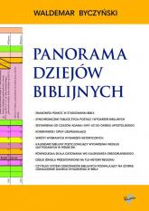 Panorama Dziejów Biblijnych - Waldemar Byczyński | mała okładka
