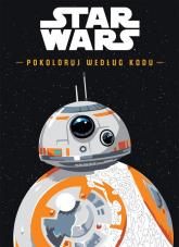Star Wars Pokoloruj według kodu -  | mała okładka