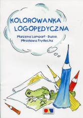 Kolorowanka logopedyczna - Lampart-Busse Marzena, Frydecka Mirosława | mała okładka