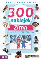 300 naklejek na zimę -    mała okładka