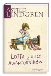 Lotta z ulicy Awanturników - Astrid Lindgren | mała okładka